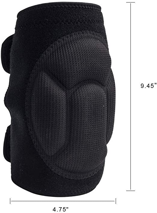 1 Pair Soft Knee Pads Adjustable Straps For Scrub Knee Protectors Work G8P9