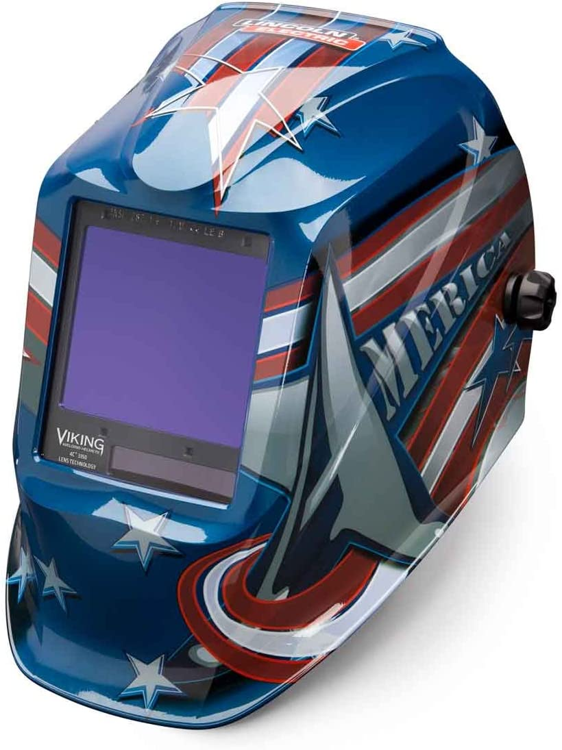 Welding Helmets by Lincoln Electric American Flag Graphic