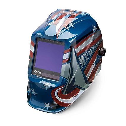 Lincoln eléctrica Viking 3350 todos los American casco de soldadura con tecnología de la lente de