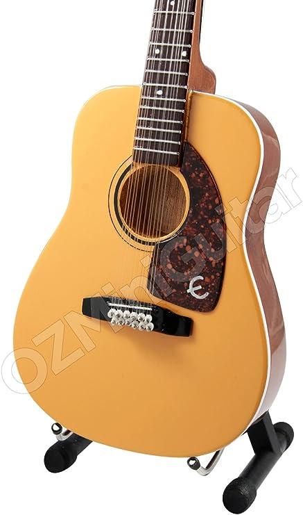 Guitarra acústica Miniatura Roy Orbison 12 Cuerdas: Amazon.es: Hogar