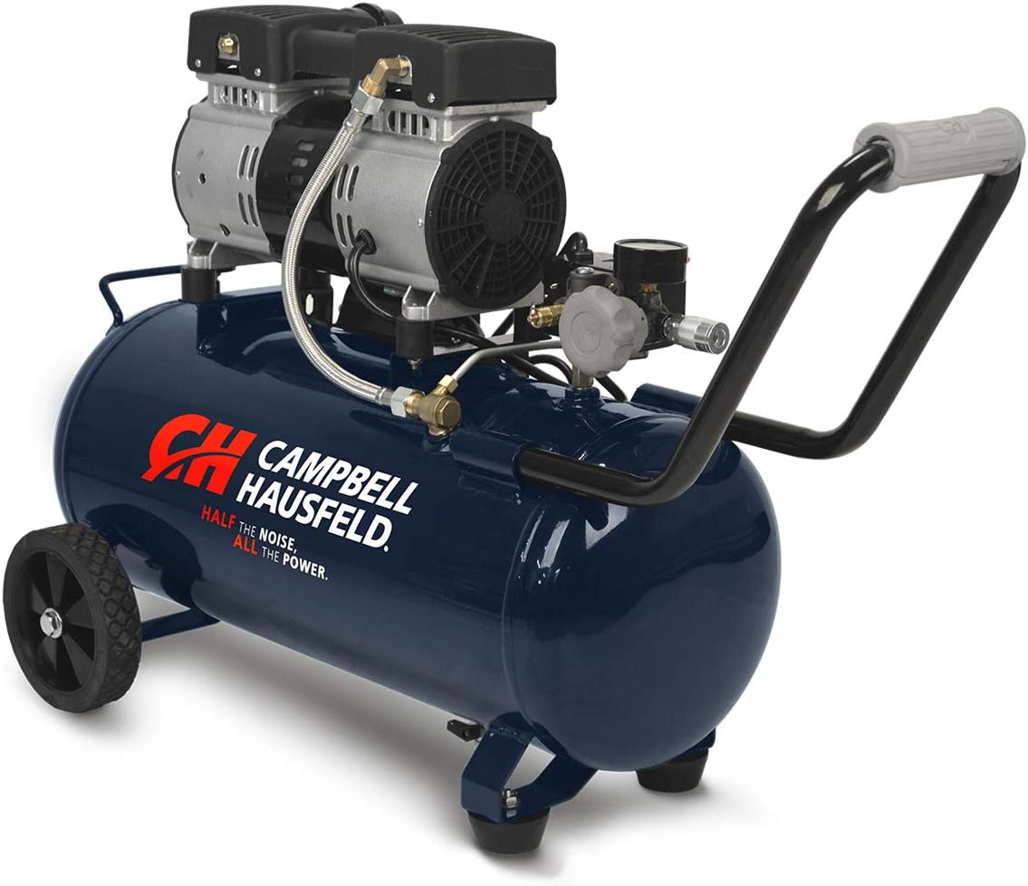 Campbell Hausfeld 8 Gallon Quiet Air Compressor