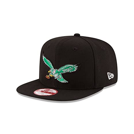 9d7a3795e96 Amazon.com   Philadelphia Eagles Retro Logo Snapback Hat   Cap ...
