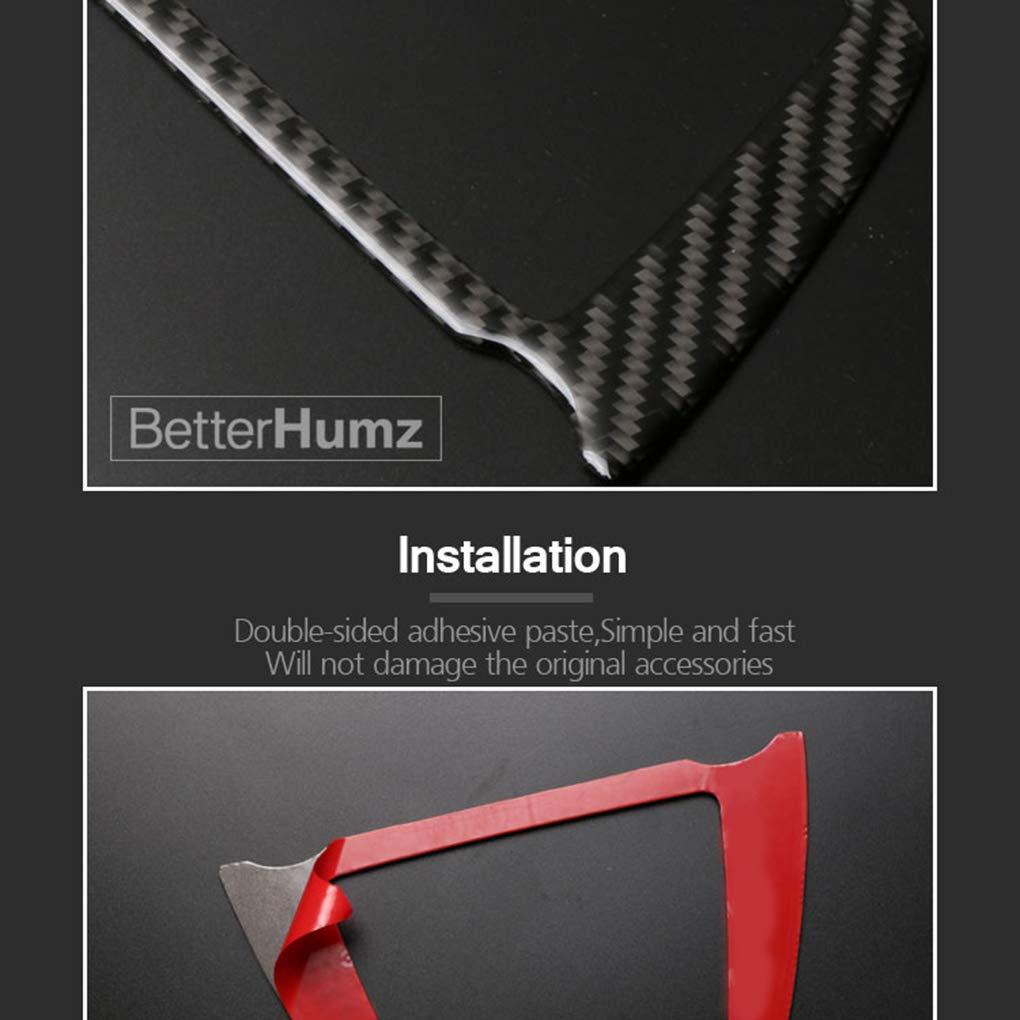 Topker Luz de Lectura de Techo Decorativo de Fibra de Carbono Cubierta de Pegatinas para el BMW Serie 5 F07 F10 F26 5gt X4 X3 F25
