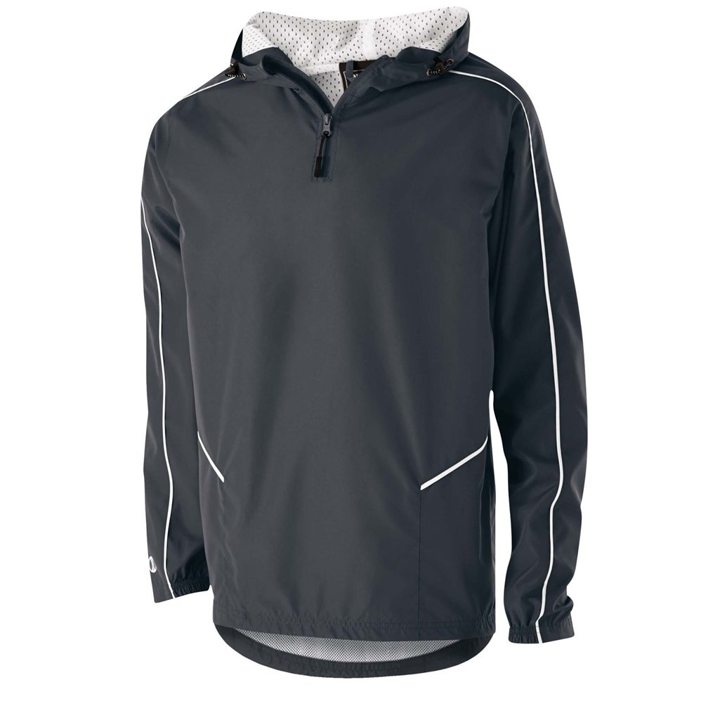 Holloway Wizard Youth Pullover (X-Large, Carbon/White) by Holloway