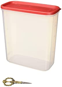 Rubbermaid LEPUSEMTE469 711717429496 21-Cup Dry Food Container (Set of 2), 2 Pack Everyday, Clear