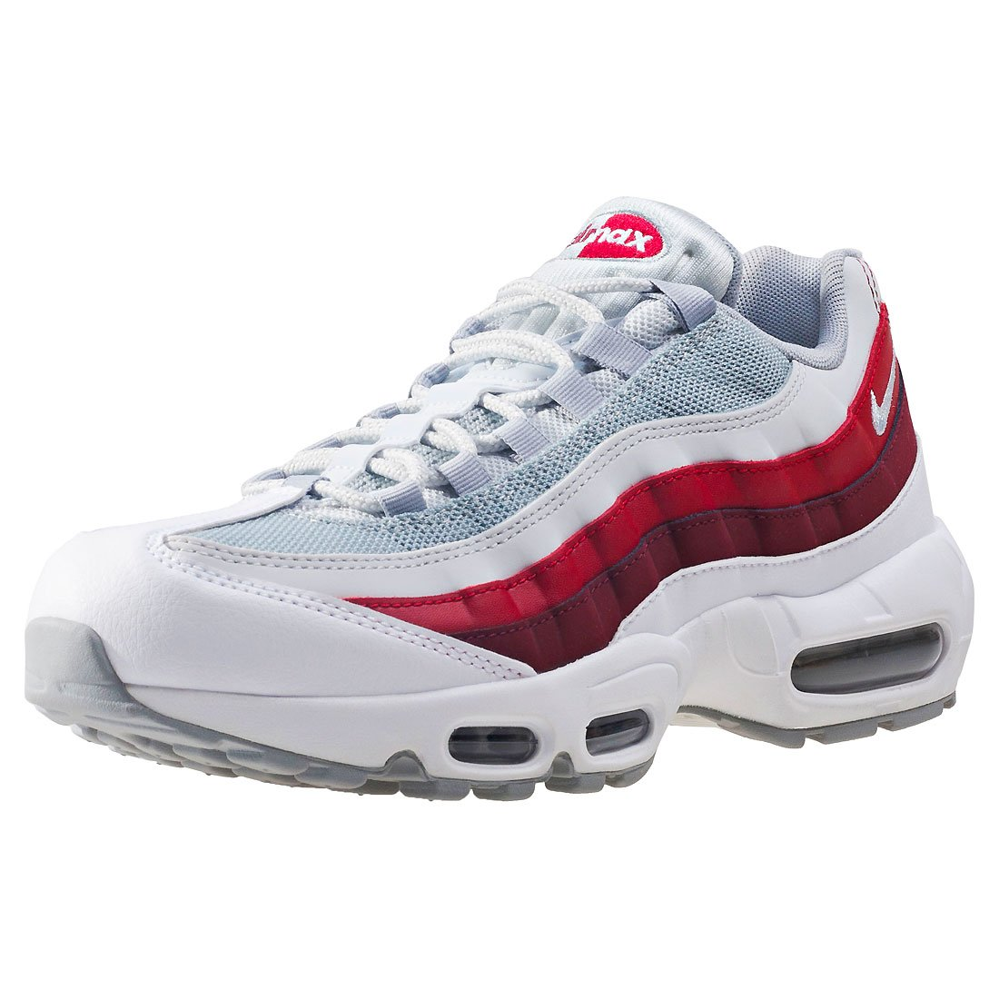 premium selection cdb34 07968 Galleon - NIKE Air Max 95 Essential Men s Shoes White Wolf Grey Pure  Platinum 749766-103 (11.5 D(M) US)