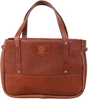 product image for Col. Littleton Full-Grain Leather Ladies Bentley Tote | Made in USA