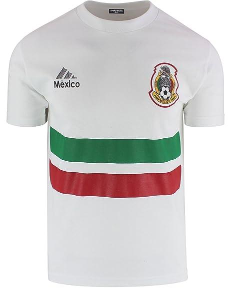 Mexico Soccer Jersey T Shirt Futbol Mexicano Camisa de Seleccion Mexicana (S)