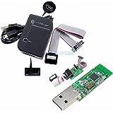 YWBL-WH CC Debugger USB Cable 10 Pin Wiring System-on-Chips Downloader CC Debugger /&Programmed Chips Simulation