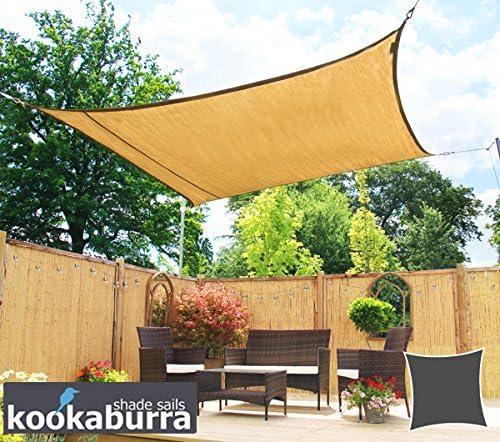 Kookaburra Toldo Vela de Sombra Para Jardín - Transpirable - 5.4m ...