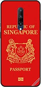 For OnePlus 7 Pro Case Cover Singapore Passport