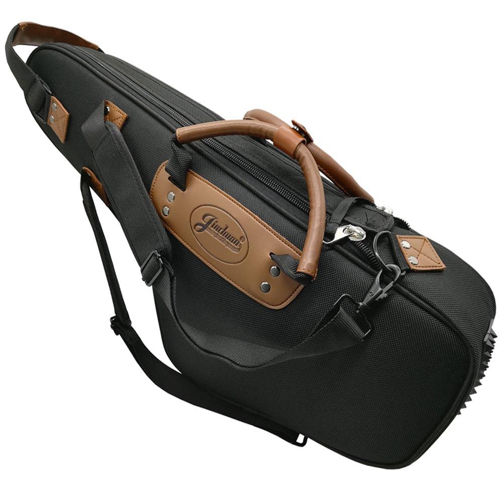 Xinlinke Alto Saxophone Case Soft Sax Gig Bag 1200D Oxford Cloth 15mm Padded Carrying Backpack