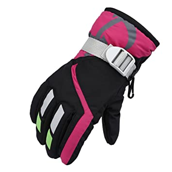 Boys' Baby Clothing Accessories Responsible Children Boys Girls Ski Gloves Waterproof Winter Warmer Kids Gloves For Climbing Cycling Outdoor Sports Windproof Baby Mittens