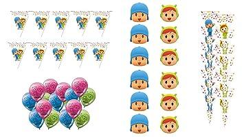 ALMACENESADAN 0769, Pack decoración Especial para Fiestas y ...