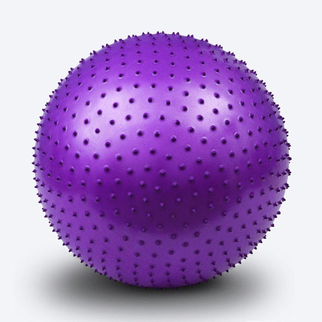 YJAGAP CYJZ® Bola de Yoga, Pelota de Masaje Especial Espesa Bola de Gimnasio a Prueba de explosiones Granule Toque la Bola Cómodo (Color : #2)