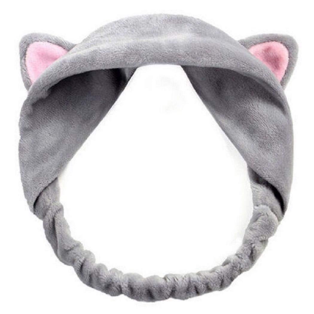 Olseti Cute Cat Ears Hairband Party Gift Headdress Hair Accessories Makeup Tools Headbands