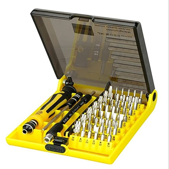 Amazon com: Jackly 45 in 1 Precision Opening Pry Screwdriver Set