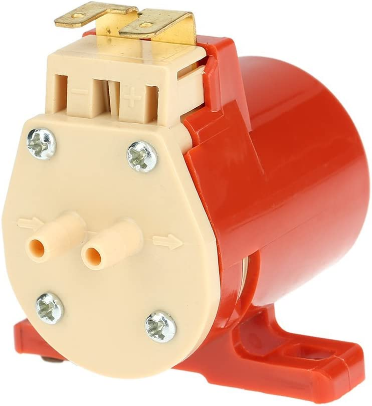 KKmoon 12V Bomba de Agua Lavadora de Parabrisas Lavado Universal para Coche Veh/ículo Autob/ús