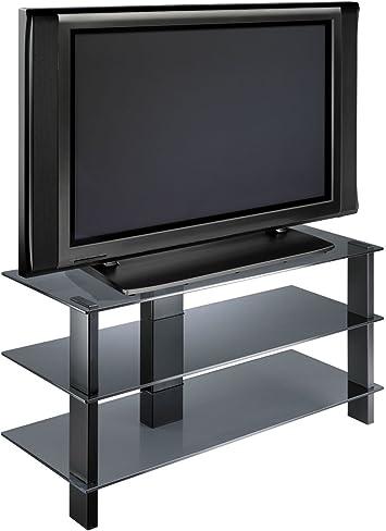 Meliconi Flat Vision Zen 300 Mesa de Aluminio y Cristal para TV ...