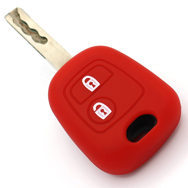 PEC Silicone Key cover for 2-button car key, made by Finest-Folia Finest-Folia GmbH