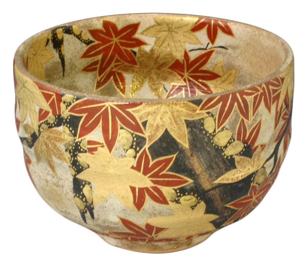 KIYOMIZU Ware Matcha Bowl (Wooden Box) MIYAKO NISHIKI by Watou.asia (Image #1)