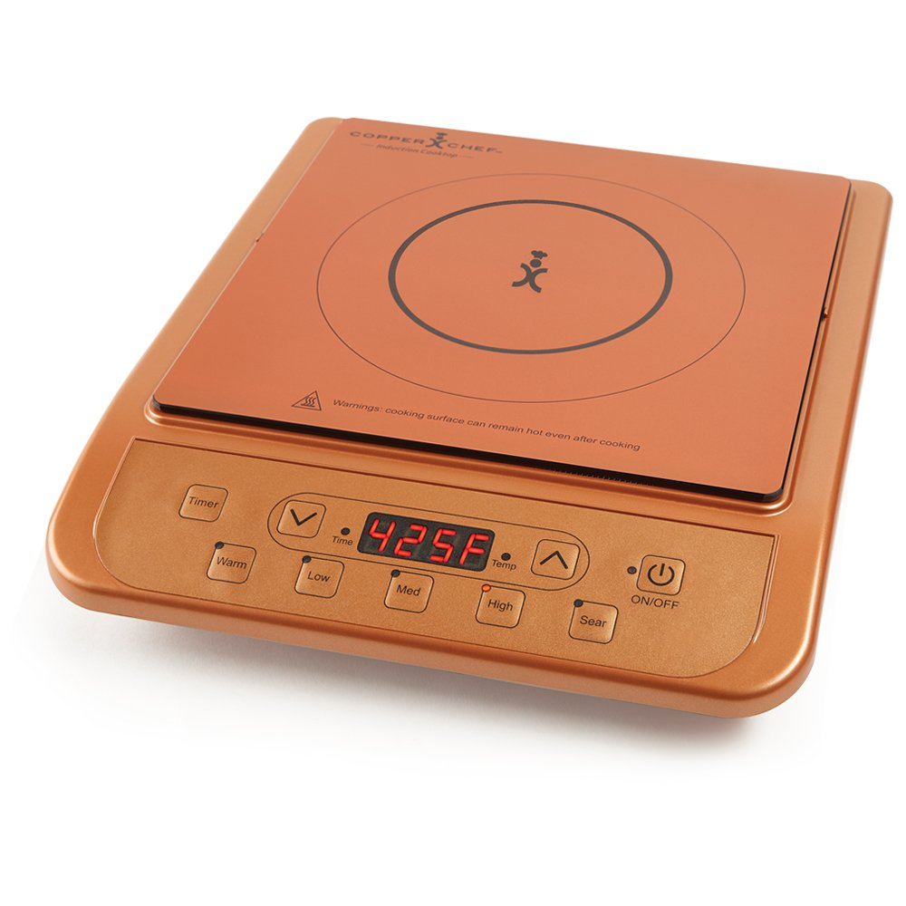 Copper Chef Induction Cooktop (Copper)