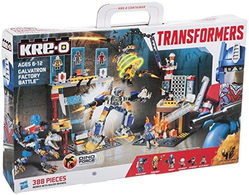 Kre-o Transformers Galvatron Factory Battle Movie Playset (Transformers Lego)