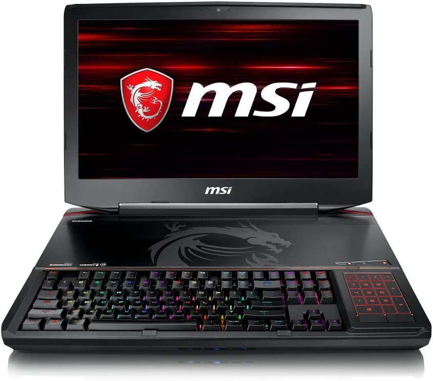 MSI GT83 TITAN-014 Full HD Extreme Gaming Laptop i7-8850H (6 cores) GTX 1080 [SLI] 16G, 32GB 512GB SSD + 1TB HDD, 18.4""