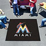 "Fan Gear Fanmats Florida Marlins Tailgater Chromojet Printed Rug 60""72"" MLB-6440"