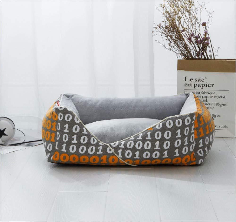 Cane casa Inverno Peluche Gatto Nido Rimovibile e Lavabile Cane oroen Retriever Pet Pad Creativo Pet Nest Cuscino per Cani W