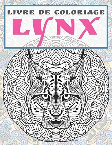 Lynx Livre De Coloriage French Edition Carle Victoire 9798637071715 Amazon Com Books