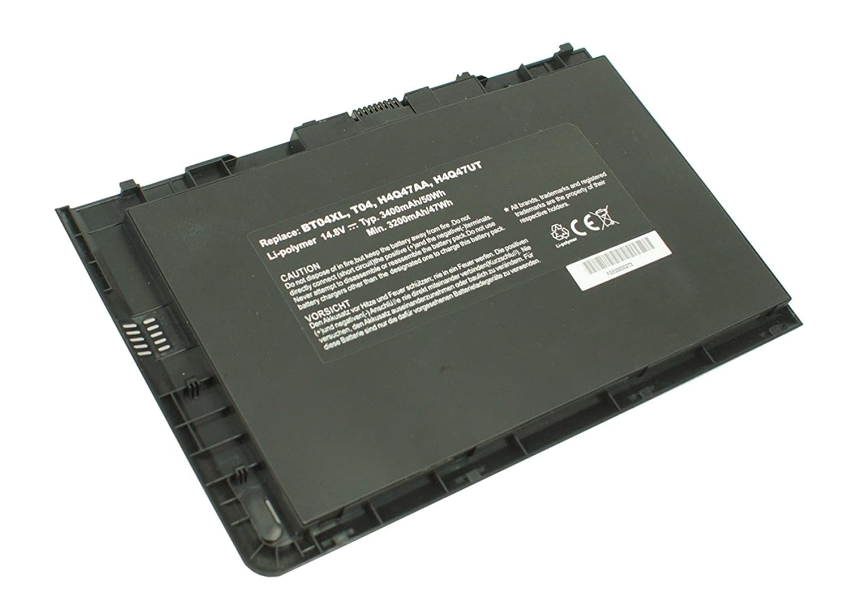PowerSmart PowerSmart PowerSmart – Batería de polímero de litio de 14,80 V 3400 mAh para HP BT04, BT04 X L, H4Q47AA, H4Q47UT, HSTNN-XB61 ib3z e2f6d7