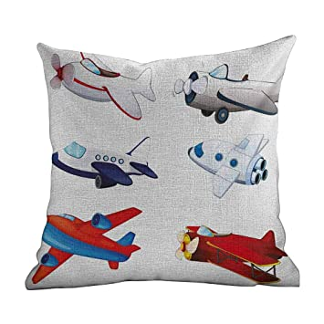 Amazon.com: Matt Flowe Funda de almohada con cremallera ...