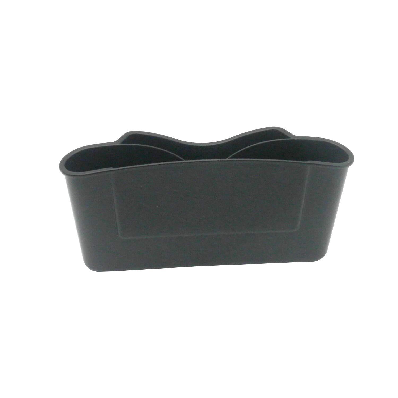 TRENDBOX 2 Pack Car Seat Gap Filler Car Seat Side Organizer Non-Slip Mat Grey