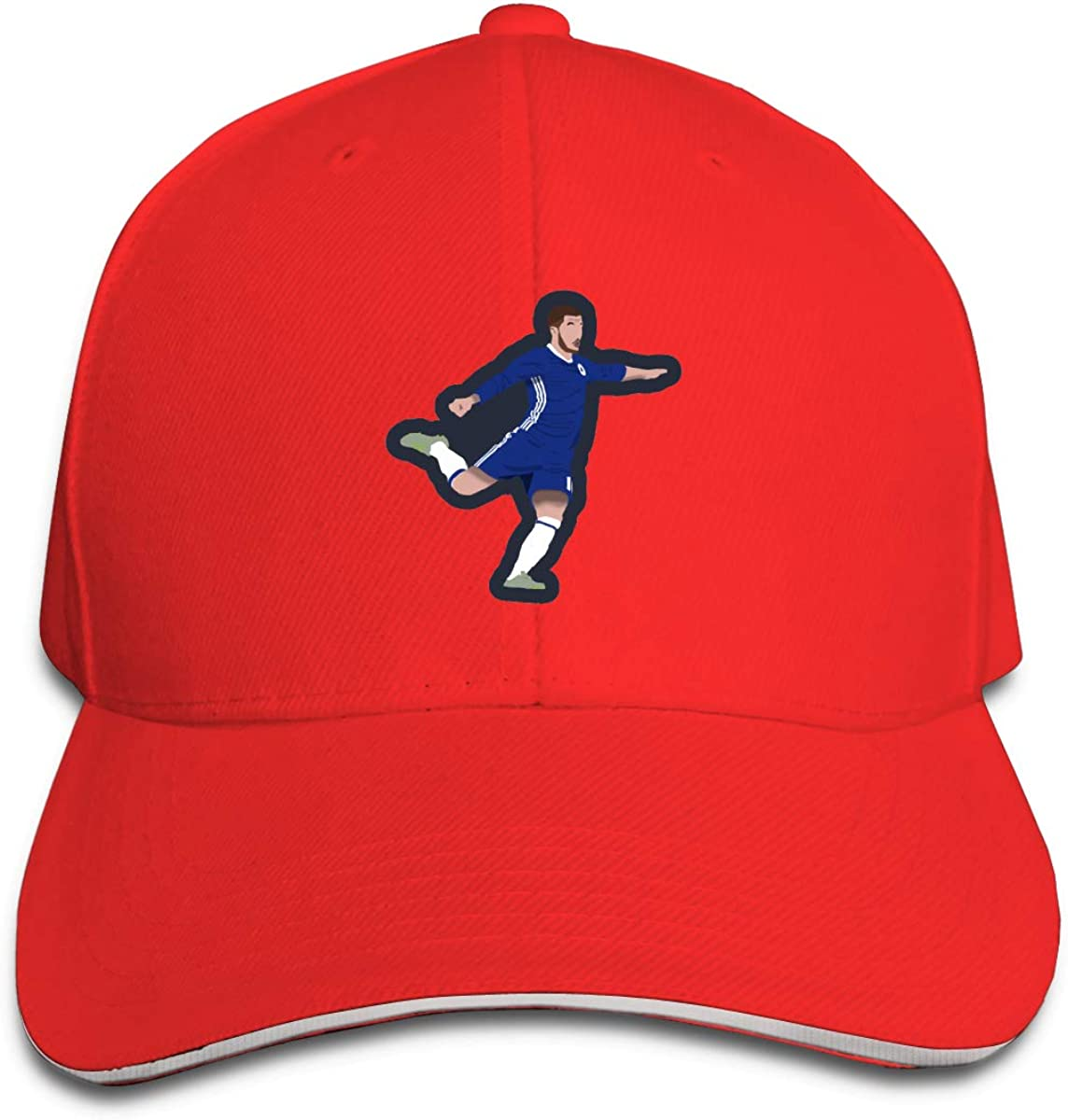 Haggai Romeo Unisex Football Eden-Hazard Snapback Baseball Cap Flat Brim Hip Hop Hat Adjustable Dad Hat