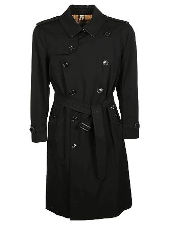 Burberry Hombre 4073485 Negro Algodon Trench Coat: Amazon.es ...