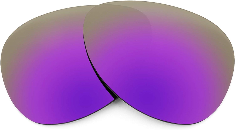 Revant Verres de Rechange pour Maui Jim Mavericks - Compatibles avec les Lunettes de Soleil Maui Jim Mavericks Violet Plasma Mirrorshield - Polarisés