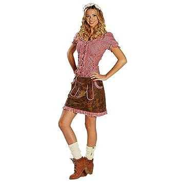 Falda de traje tradicional de las mujeres tamaño 38, Lederoptik ...