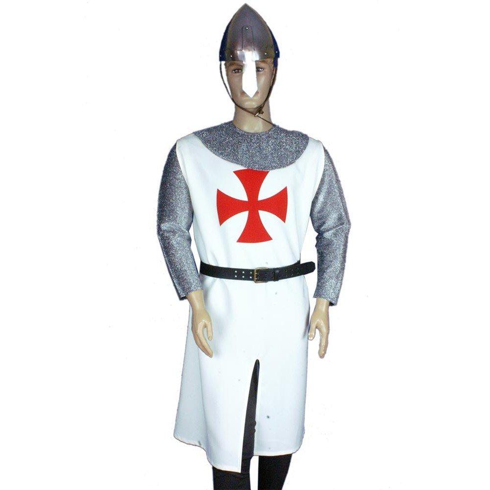 Medieval Factory Traje Templario hombre Cruz Paté: Amazon.es ...