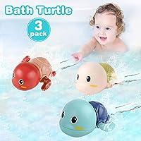 NARRIO Baby Bath Toys for 1 2 4 3 Year Old Boy Girls Gifts, Turtle Bathtub Toys...
