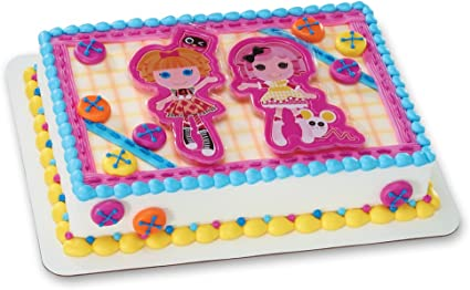 Pleasant Amazon Com Decopac Lalaloopsy Lets Bake Decoset Cake Topper Personalised Birthday Cards Rectzonderlifede