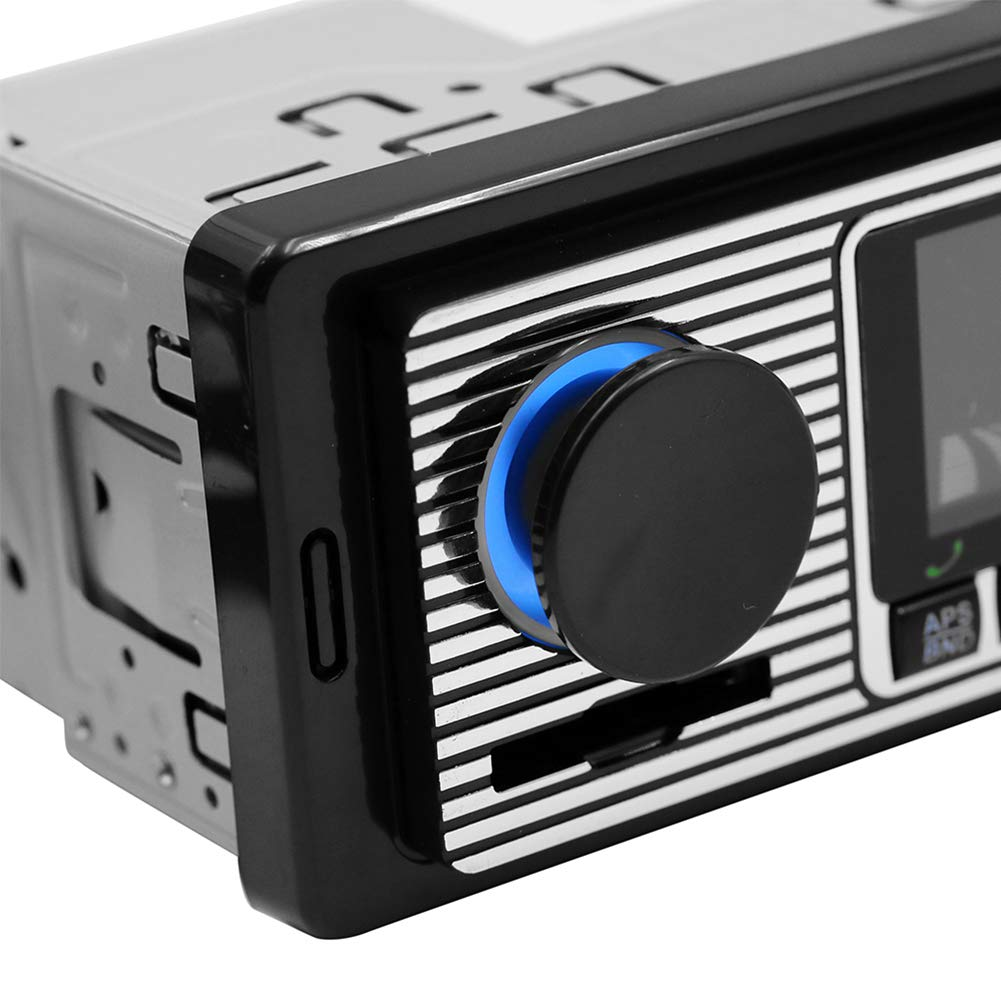 Vintage-Design Stereo Romsion Accessories Autoradio mit Bluetooth MP3-Player USB Audio klassische Autoradio AUX