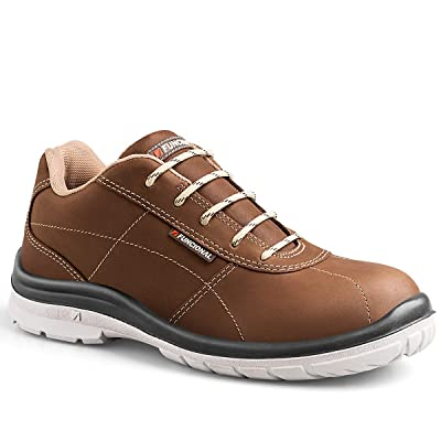 FUNCIONAL Men's City Aluminum Toe Ultra-Lightweight Work Shoe: Shoes