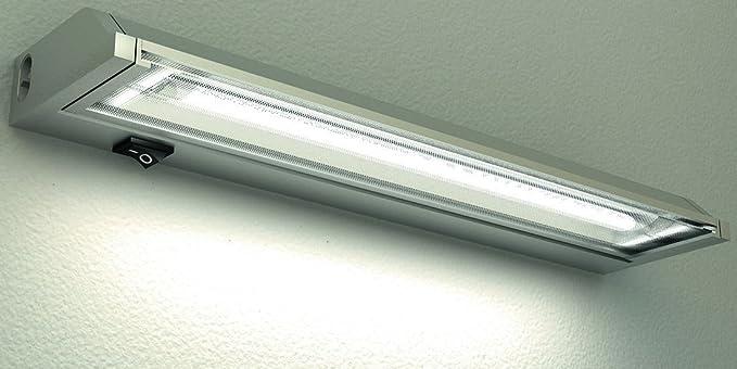 Lampenlux lampada da officina da lavoro da cucina in alluminio da