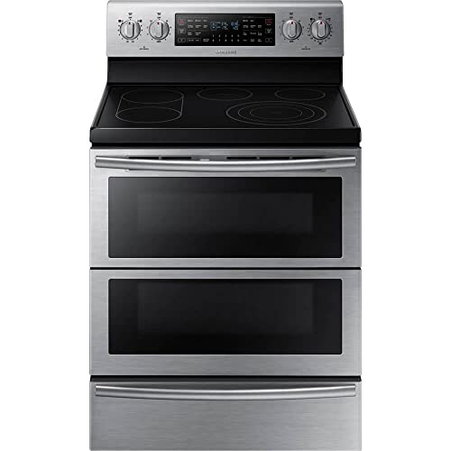 Samsung NE59J7850WS 30 Freestanding Electric Double Range