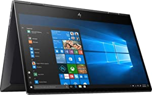 "2019 HP Envy x360 15.6"" FHD Touchscreen 2-in-1 Laptop Computer, AMD Ryzen 5 3500U Quad-Core Up to 3.7GHz, 8GB DDR4 RAM, 256GB SSD, 802.11ac WiFi, Bluetooth 4.2, USB 3.1, HDMI, Windows 10 Home"