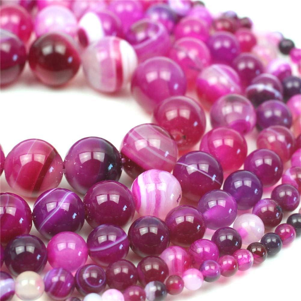 "Wholesale Natural Rose Pink Quartz Round Gemstone Beads For Jewelry Making 15/"""