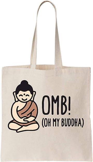 OMB Oh My Buddha Algodón Bag Tote Bag: Amazon.es: Zapatos y ...