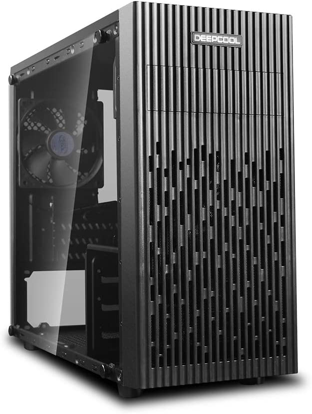 DEEPCOOL MATREXX 30,Mini-Tower,M-ATX/Mini-ITX,Tempered Glass Panel Larger Area of Air-Intake