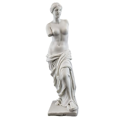 Top Collection 11 Venus de Milo Statue in White Marble Finish -Greek Antique Replica Sculpture